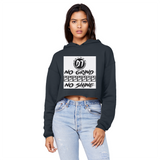 Days Unisex Cropped Raw Edge Boyfriend Hoodie