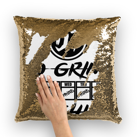 Days Sequin Cushion Cover