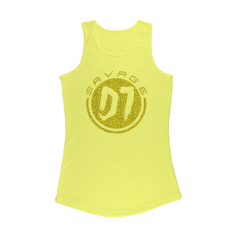 Spotted Women Performance Tank Top