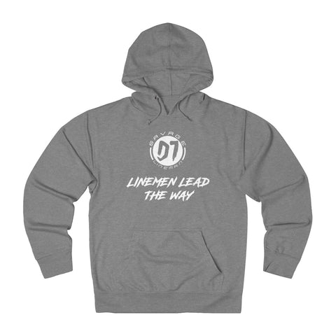 Linemen Lead The Way Hoodie