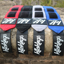 "Load image into Gallery viewer, KiloKings 34"" Wrist Wraps Blue."