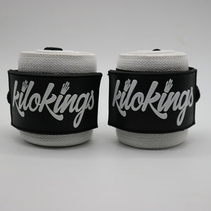 "KiloKings 22"" Wrist Wraps White."