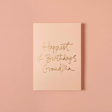 Happiest of Birthdays Grandma