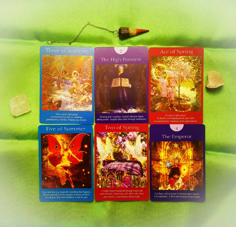 10 Card, Fairy Tarot Reading, via Email, by Prism Gypsy