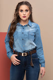 Camisa Jeans 76149