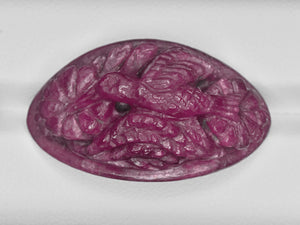 8801146-carved-maroonish-red-gii-india-natural-ruby-55.32-ct