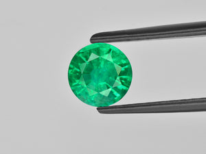 8800994-round-fiery-vivid-green-grs-zambia-natural-emerald-1.20-ct