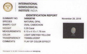 8801440-cabochon-light-greyish-yellow-with-multi-color-flashes-igi-australia-natural-white-opal-0.29-ct