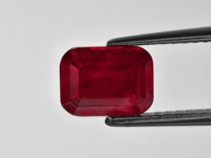 8801389-cushion-velvety-rich-pigeon-blood-red-grs-tanzania-natural-ruby-3.38-ct