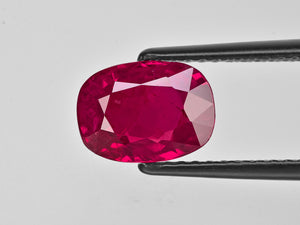 8801773-cushion-deep-red-with-a-slight-pinkish-hue-gii-burma-natural-ruby-3.48-ct