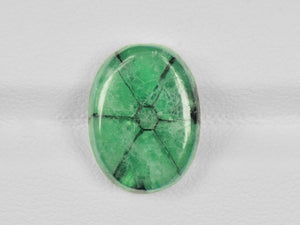 8802123-cabochon-green-with-black-spokes-igi-colombia-natural-trapiche-emerald-7.00-ct