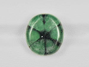 8802124-cabochon-green-with-black-spokes-igi-colombia-natural-trapiche-emerald-10.19-ct