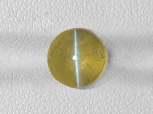 8802536-cabochon-greenish-yellow-igi-india-natural-chrysoberyl-cat's-eye-5.03-ct