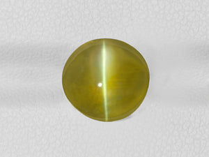 8802539-cabochon-deep-greenish-golden-yellow-igi-india-natural-chrysoberyl-cat's-eye-6.42-ct