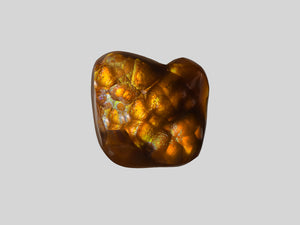 8802395-cabochon-brown-with-multi-color-swirls-&-bubbles-igi-mexico-natural-fire-agate-14.61-ct