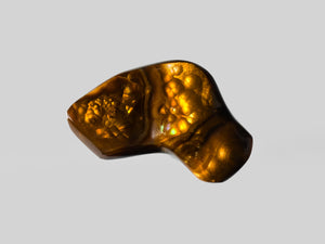 8802424-cabochon-brown-with-multi-color-swirls-&-bubbles-igi-mexico-natural-fire-agate-18.54-ct