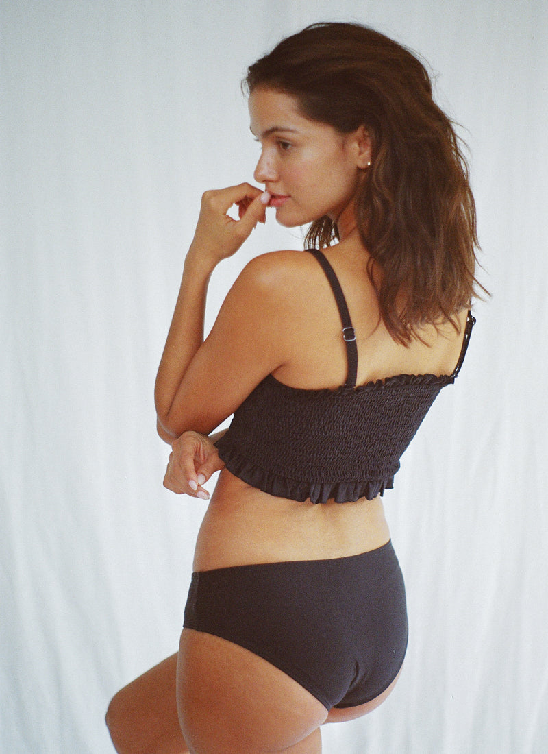 Ethereal Ruched Bandeau