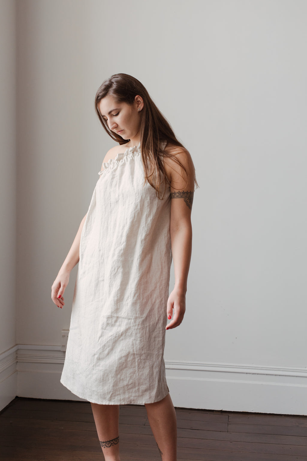 Bodhi Dress - Oatmeal