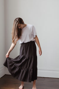 Hebe Tiered Skirt