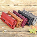Genuine Leather Women  Clutch Wallets