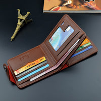 2020 Leather Vintage Wallet Men Credit Card Holders