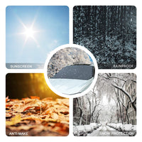 Snow Sun Shade Waterproof Protector Cover Car Front Windscreen Cover