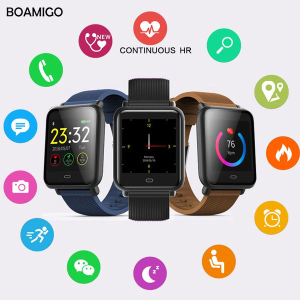 Smartwatch For IOS Android Phone Call Remind Camera