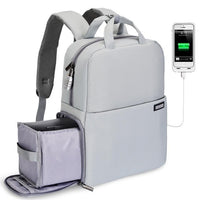 Backpack Bag  Laptop Compartment with USB Charging Port for Canon Nikon Sony