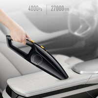 Car Vacuum Cleaner 4000pa Wireless/Wired  Cleaner For Car Home