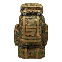 Tactical backpack 80/100L  Sports Camping Hiking Trekking Fishing Hunting Bag