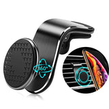 Car Phone Holder Clip Magnetic Auto Air Vent