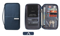 Passport Wallet and credit card Organizer Multi-Function ID Document