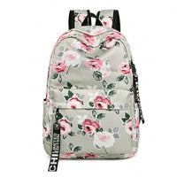 Women Backpack Flower Printing  Girls Daily College Laptop Bagpack