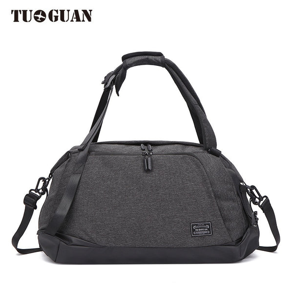 TUGUAN Travelling Bag can be folded Handbag Will Capacity  Package Man racket bags Waterproof Luggage Package Travel Bag