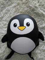 Cartoon Hard shell backpack penguin school backpack for boy or girl