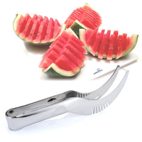 Stainless Steel Watermelon Slicer Fruit Fast Cutter