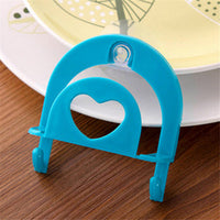 1pc Kitchen Sink Dish Sponge Storage Holder Rack Robe Hooks Sucker With Hooks 4 Colors
