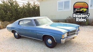 Rare Original Owner 1971 Chevelle Malibu with a 402 Big-Block Chevy: The Original LS3 Engine