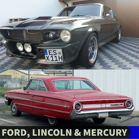 Ford, Lincoln & Mercury