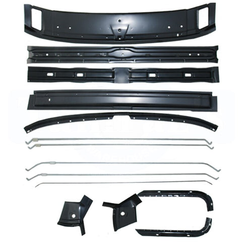 69 GM F Body Headliner Bow & Roof Brace Support Kit NEW