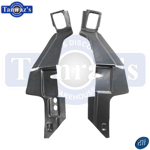 1967 -  1969 Camaro Firebird Rear Package Shelf / Tray Braces DynaCorn