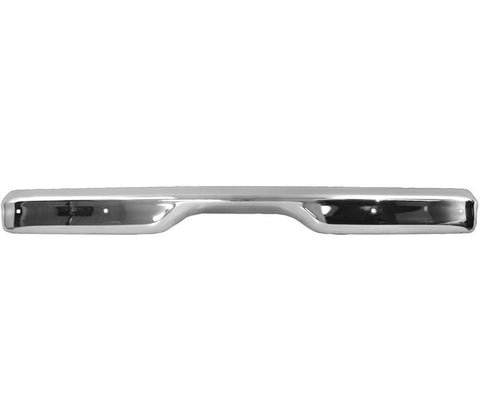 1960-1962 Chevy Truck Fleetside Rear Bumper Chrome W/O License Plate Hole New