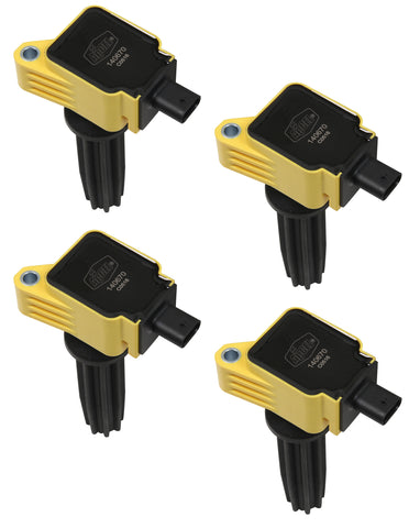 COIL FORD ECOBOOST L4 2.0/2.3L 4-PACK YELLOW