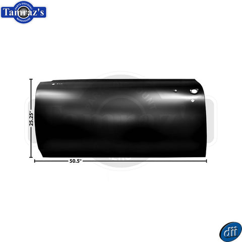 66-67 GTO / LeMans Door Outer Skin Panel ONLY - Dynacorn Brand  -  LH
