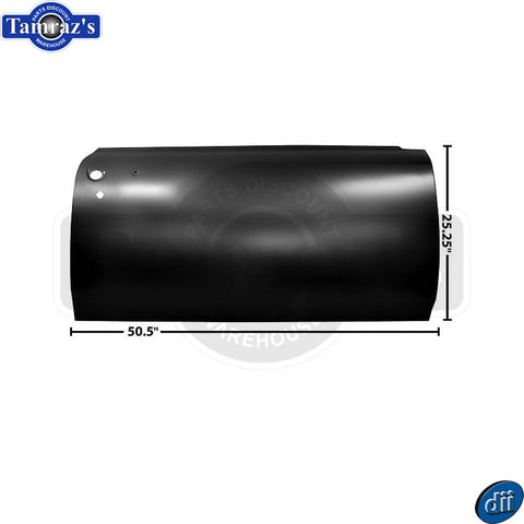 66-67 GTO / LeMans Door Outer Skin Panel ONLY - Dynacorn Brand - RH