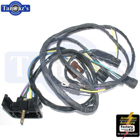 1970 70 Cutlass Engine Wiring Harness Automatic V8 Made in USA New