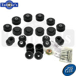 1969 1970 Impala Caprice Convertible Body Bushing Kit