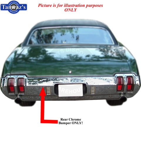 IN STOCK 70 442 Chrome REAR Bumper Exhaust Cutouts Brand New Tooling Limited Qty