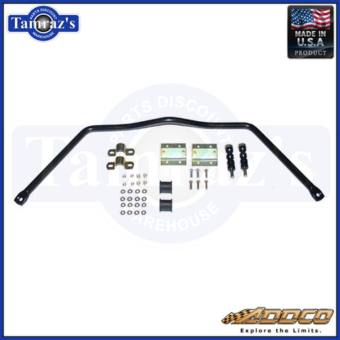 "1965-1969 Mopar B Body Front Sway Bar Kit 1 1/8"" Addco 541"