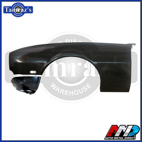 68 Camaro RS  Front Fender with Extension  Lic. GM Restoration Part - LH - AMD